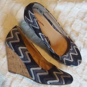 Zigi soho wedge shoes